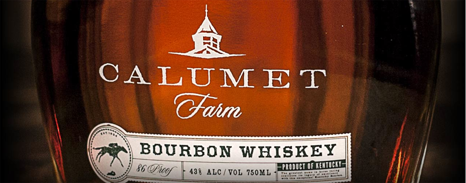 Calumet Farms Bourbon, ready to rac...