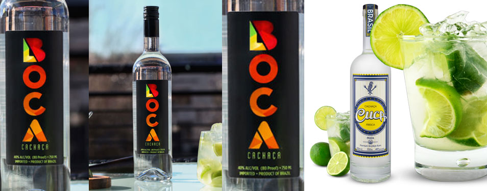 Keep an olympic spirit-Cachaça